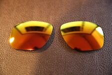 PolarLenz Polarized Fire Red Iridium Replacement Lens for-Oakley Dispatch 1