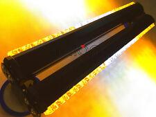 36 LED 108W Double Side Car Truck Flashing Strobe Work Light Bar Amber/White