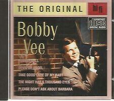 BOBBY VEE - The Original (Hits) - CD - Netherlands Import- 18 Tracks - Like New