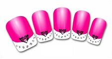 3D Nail Art Sticker Decals Transfer Stickers French Tip Design (3D804)