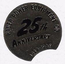 USA Cinderella stamp: Hauer Power Equipment Co., 25th Anniv. 1949 Seal (dw424)