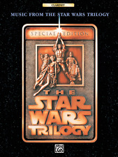 MUSIC FROM THE STAR WARS TRILOGY-SPECIAL EDITION:CLARINET MUSIC BOOK NEW ON SALE
