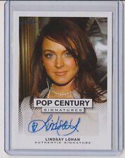2013 Lindsay Lohan Leaf Pop Century Signature   Autograph
