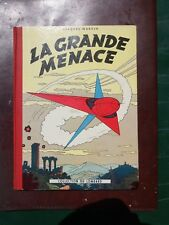 Jacques Martin - Lefranc - La grande menace - Ré. damiers rouges - 1957 - TTBE!