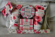 Brand New CATH KIDSTON Designer ROSE HAND CARE SET Cream Bath & Body Gift Bag