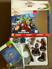 XBOX 360 DISNEY INFINITY 2.0 MARVEL STARTER PACK GAME PORTAL 3 FIGURES CRYSTAL +