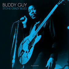 Buddy Guy STONE CRAZY BLUES 180g EARLY RECORDINGS New Blue Colored Vinyl LP