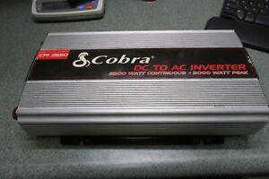COBRA CPI 2550 DC TO AV INVERTER 2500 WATT/ 5000 WATT