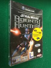 GAMECUBE - STAR WARS BOUNTY HUNTER + Carte Wizards Nintendo PAL ITA , NUOVO !!!
