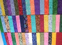 """100~ 5"""" Fabric Squares Quilting Charm Pack Pre Cut 100% Cotton Patchwork Blocks"""