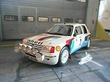 PEUGEOT 205 T16 Rallye Monte Carlo #2 Vatanen Winner 1985 Otto RAR 1:18