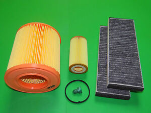 Filterset Inspektionspaket Audi A6 (4F) 2.0 TFSI (125kW/170PS) MKB: BPJ, BYK