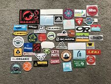 52 Outdoor Camp Stickers/Decals # 52B Mammut Mtn Hardwear Patagonia Mtn Smith