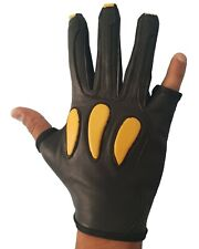 ARCHERS, LEATHER SHOOTING 4 FINGER GLOVE HUNTING, BOW GLOVES RIGHT HAND