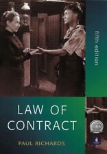 Law of Contract (Foundation Studies in Law Series),Paul Richards