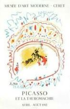 Pablo Picasso Bullfight- 1982 Lithograph Edition of 1000