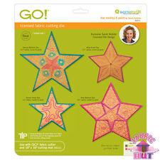 55311- Accuquilt GO Fabric Cutter Star Medley 5 Point Die Sarah Vedeler Applique