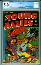 Young Allies #4 CGC 5.0-Classic RED SKULL cover-TIMELY 2094796002