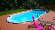Gfk Schwimmbecken Pool 6,50x3,10x1,40 Swimming Fertigpool Einbaubecken