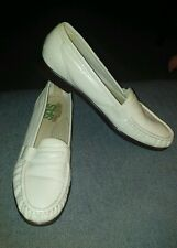 SAS TRIPAD COMFORT WOMEN'S BEIGE LEATHER UPPER SLIP ON LOAFERS SIZE 9.5 S GPOC