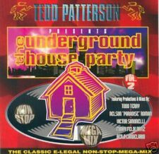 TEDD PATTERSON the underground house party vol 2 (CD) deep house garage 1995