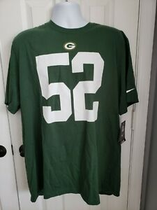 GREEN BAY PACKERS CLAY MATTHEWS 52 NIKE T-SHIRT MENS SIZE XXL NEW WITH TAGS