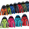 3 in 1 Women Men's Jacket Winter Rain Coat Waterproof Breathable Hiking L-8XL