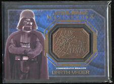 2016 Star Wars Masterworks Medallion Bronze Darth Vader Battle Of Yarvin