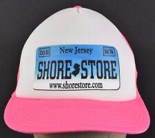 Pink New Jersey Shore Store Exit 82 1998 Trucker hat cap Adjustable Snapback