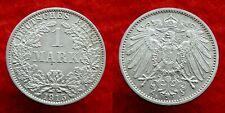 Germany / Empire - 1 Mark 1915 A ~ silver