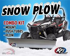 "POLARIS 570 RZR 2012-2017 - KFI UTV 66"" Snow Plow Combo Kit"