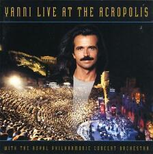 YANNI - LIVE AT THE ACROPOLIS - CD, 1994