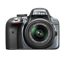 Nikon D D3300 24.2MP Digital SLR Camera - Black (Body and Bag)