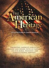 American Heritage Series Homeschool History DVDs - David Barton NEW!
