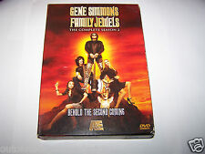 Gene Simmons Family Jewels - The Complete Season 2 (DVD, 2009, 3-Disc Set)