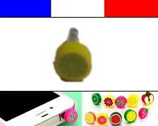 Cache anti-poussière jack universel iphone protection capuchon bouchon FRUIT 8