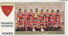 N°239 EQUIPE TEAM NIMES OLYMPIQUE VIGNETTE PANINI FOOTBALL 77 STICKER 1977