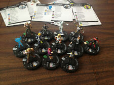 Heroclix 12 piece lot Captain America and the Avengers 044 Ghost 023 Nuke