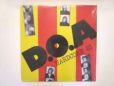 D.O.A. HARDCORE 81 LP PIONEERS OF CANADIAN PUNK REPRESS JOEY SHITHEAD DANZIG