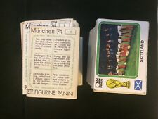PANINI WC 74 (MUNCHEN 74) NEW STICKERS - NUM. 1 - 200 CHOOSE FROM THE LIST