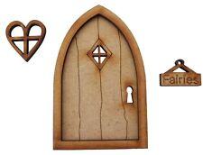 Wooden Fairy Door Fairy Window Fairy Sign Fairy Garden Door Fairy Door Accessory
