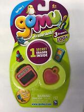 gomu Eraserland ~ Series 1 ~ 1 Package Includes 3 Erasers (1 Pkg./3 random fig.)