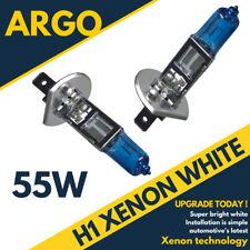 H1 XENON SUPER WHITE 55W BULBS DIPPED BEAM 12V HEADLIGHT HEADLAMP HID LIGHT X 2