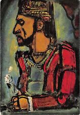 B47999 painting art postcard georges rouault le vieux roi