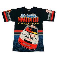 Vtg Rare NASCAR Darrell Waltrip All Over Print T Shirt. Mens Medium.