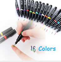 Latest 16 Colors  Delicate Beauty Nail Art  Pen Polish DIY Design Manicure Tool