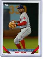 Xander Bogaerts 2019 Topps Archives 5x7 #217 /49 Red Sox