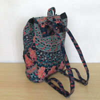 Mandala Backpack Indian Cotton Unisex Multi Fashion Bags With Adjustable Strap