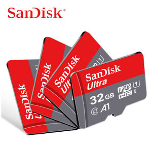 SanDisk Micro SD Card Ultra 16GB 32GB 64GB 128GB 256GB 512GB Class10 Memory Card