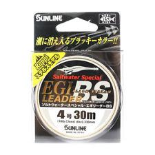 Sunline Fluorocarbon Egi Leader Black Stream 30m #4 16lb (4558)